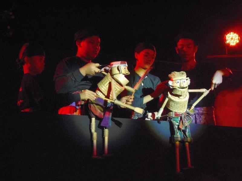 9.2) หมอลำหุ่นกระติ๊บข้าวเด็กเทวดา